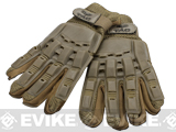 Valken Full Finger Tactical Gloves - Tan / Medium