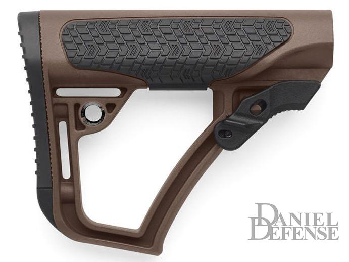 Daniel Defense Collapsible Mil-Spec Buttstock (Color: Mil Spec+ Brown)
