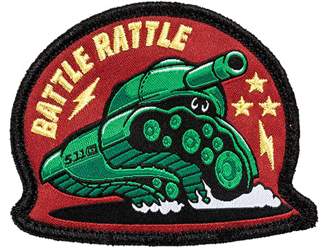 5.11 Tactical Battle Rattle Embroidered Morale Patch