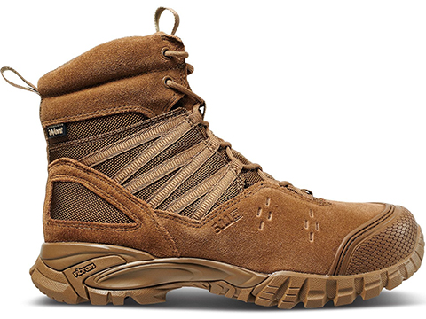 5.11 Tactical Union Waterproof 6 Boot (Size: Dark Coyote / Size 8)