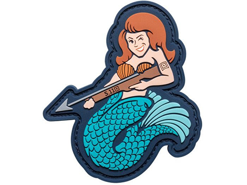 5.11 Tactical Mermaid Sniper Hook & Loop PVC Morale Patch