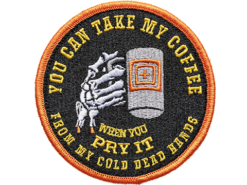 5.11 Tactical Cold Dead Caffeine Hook & Loop Embroidered Morale Patch