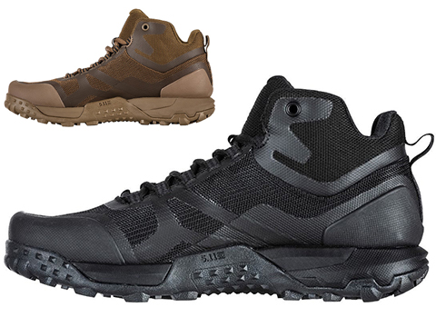 5.11 Tactical A.T.L.A.S. MID Boot (Color: Black / Size 9)