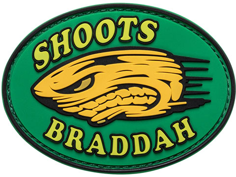 5.11 Tactical Shoots Braddah Hook & Loop PVC Morale Patch