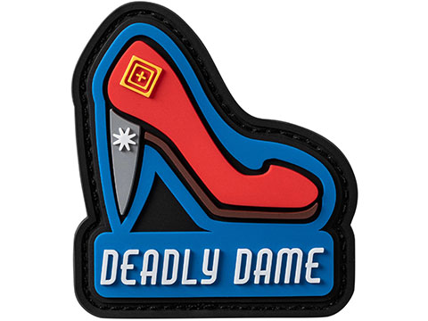 5.11 Tactical Deadly Dame PVC Morale Patch