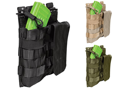 5.11 Tactical AK Double Bungee Cover Magazine Pouch (Color: Black)