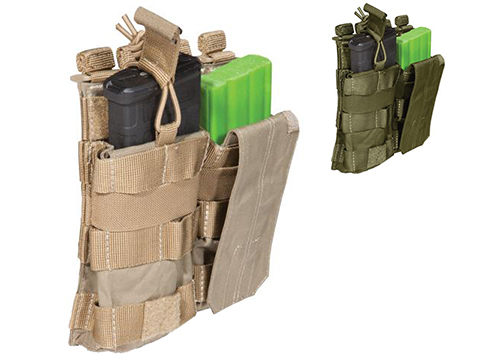 5.11 Tactical AR Double Bungee Cover Magazine Pouch (Color: Sandstone)