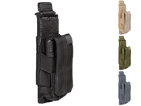 5.11 Tactical Single Pistol Bungee Cover Magazine Pouch (Color: Black)