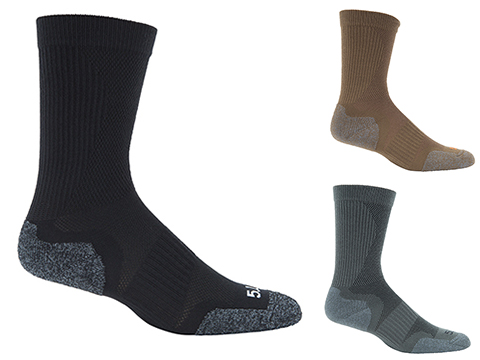 5.11 Tactical Slip Stream Crew Sock - Gun Metal