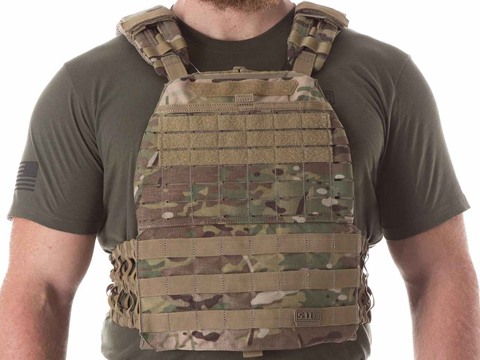 5.11 Tactical TacTec Plate Carrier (Color: Multicam)