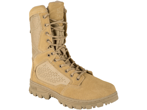 5.11 EVO 8 Desert Side Zip Boot (Color: Coyote / Size 10 Regular)