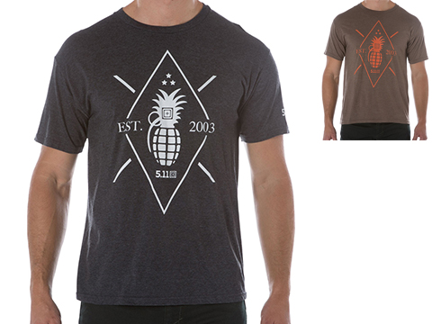 5.11 Tactical Pineapple Grenade Graphic Tee