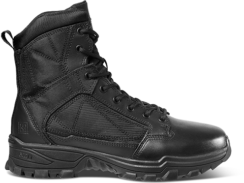 5.11 Tactical Fast-Tac 6 Leather Boot (Size: Black / Size 13 Regular)