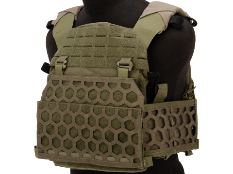 5.11 Tactical All Mission Plate Carrier (Color: Ranger Green / Small/Medium)