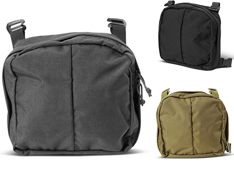 5.11 Tactical Admin Pouch for Gear Set Systems (Color: Tungsten)