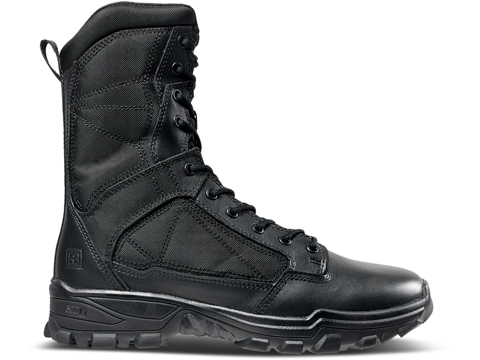 5.11 Tactical Fast-Tac 8 Leather Boot (Size: Black / Size 13 Regular)