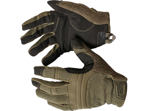 5.11 Tactical Competition Shooting Glove (Color: Ranger Green / Medium)