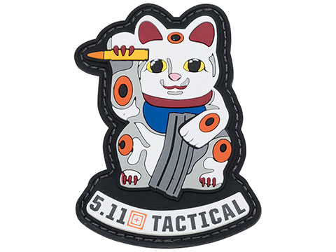 5.11 Tactical Ammo Cat PVC Morale Patch (Color: Multicolored)