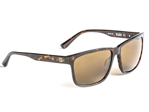 5.11 Tactical Daybreaker Polarized Sunglasses (Color: Brown Tortoise)