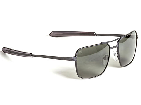 5.11 Tactical Shadowbox Polarized Sunglasses (Color: Gunmetal Grey)