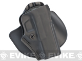 SAFARILAND Open Top Concealment Paddle and Belt Clip Holster with Detent - Glock 20 / 21