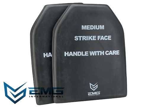 EMG Professional Training EVA Dummy SAPI Plate Set (9x12) - Set of 2
