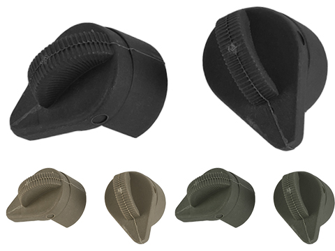 G&P Crane Stock Replacement Knob / Cover Set for Retractable Stocks (Color: Black)