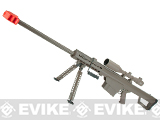 Snow Wolf Custom Long Range Airsoft AEG Sniper Rifle (V.2 Gearbox) (Package: Tan / Long Barrel / No Scope)