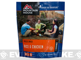 Mountain House Freeze Dried Camping Food (Menu: Chicken and Rice / Entree)