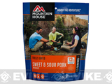 Mountain House Freeze Dried Camping Food (Menu: Sweet and Sour Pork / Entree)