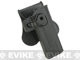 Matrix Hardshell Adjustable Holster for STI Hi-Capa 2011 Airsoft Pistols (Mount: Paddle Attachment)