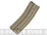 Matrix Universal Feeding Full Metal 500rd Hi-Cap M4 AEG Magazine (Color: Tan)
