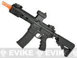 z G&G FFR GC16 Airsoft AEG Rifle with 7 Handguard - Black (Package: Basic Starter Package)