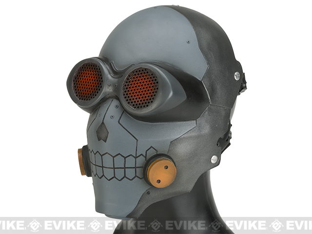 Evike.com R-Custom Fiberglass Wire Mesh Inspired by Death Gun - Matte Grey