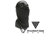 Black Owl Gear / Phantom Tactical High Speed Operator Mask (Color: Black Phantom)