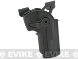 Matrix Hardshell Adjustable Holster for M9 Series Airsoft Pistols (Type: Black / MOLLE Attachment)