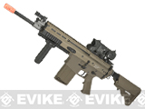 z WE-TECH MK17 Spec. Ops Seal Custom Gas Blowback Airsoft Rifle (Color: Tan)