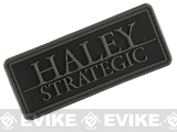 Haley Strategic Partners  Brand PVC Patch - Disruptive Grey