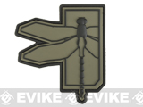 Haley Strategic Partners Dragonfly PVC Patch (Color: OD Green)