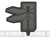 Haley Strategic Partners Dragonfly PVC Patch (Color: Disruptive Grey)