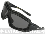 Tactical Convertible Shooting Glasses - Smoke Lens