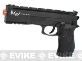 Win Gun Full Metal M87 Archer CO2 Powered Blowback Airsoft Pistol - Black