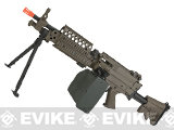 A&K Full Metal M249 Airsoft Machine Gun (Version: MK46 / Dark Earth / AEG)