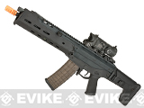PTS Magpul 7.62 AKM CQB Airsoft AEG Rifle - Black