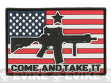 MoeGuns Come and Take it 3D PVC Morale Patch