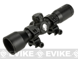 AIM Sports / Six Millimeter 4x32 Combat Scope with Mil-Dot Reticle