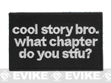 Griffon Industries Cool Story Bro Patch (Color: Black)