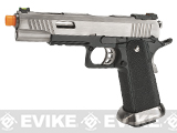 WE-Tech Hi-Capa 5.1 T-Rex Competition Pistol - Silver