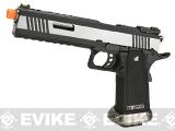 WE-Tech Hi-Capa 6 IREX Competition Pistol (Color: Silver / Silver Barrel / Sterile)