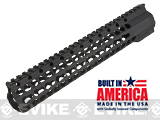 Matrix Arms 11.375 5.56 Lavi Keymod Free Float Hand Guard for AR15 / M4 / M16 Rifles - Black